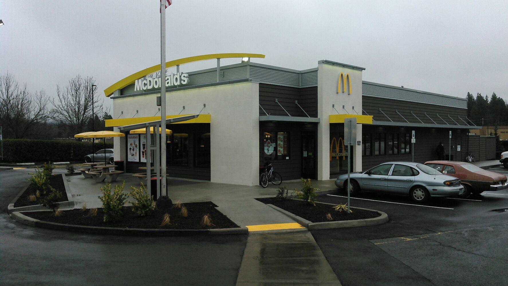 Rich Duncan ConstructionMcDonald's Remodels, Pacific Northwest, fast-food, restaurant