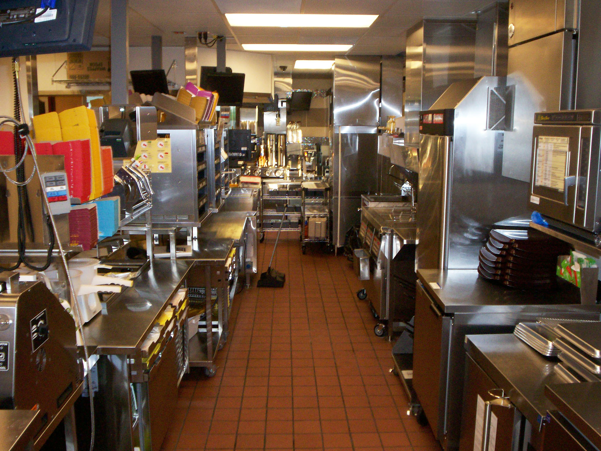 Rich duncan constructionrestaurants fast food rich duncan construction Kitchen design for fast food restaurant