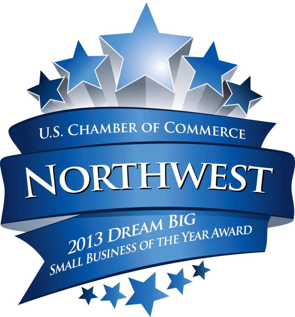 U.S. Chamber of Commerce – Northwest Region Small Business of the Year